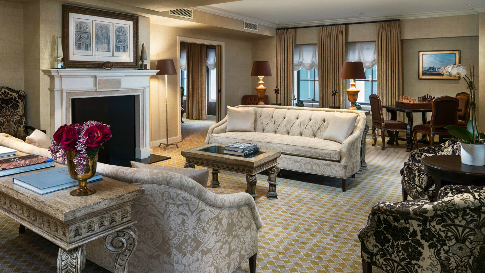 The St. Regis Washington, D.C. - Presidential Suite Living Room