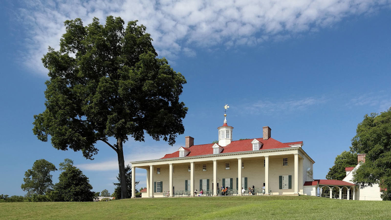 Visiting Mount Vernon Estate is the perfect family outing.