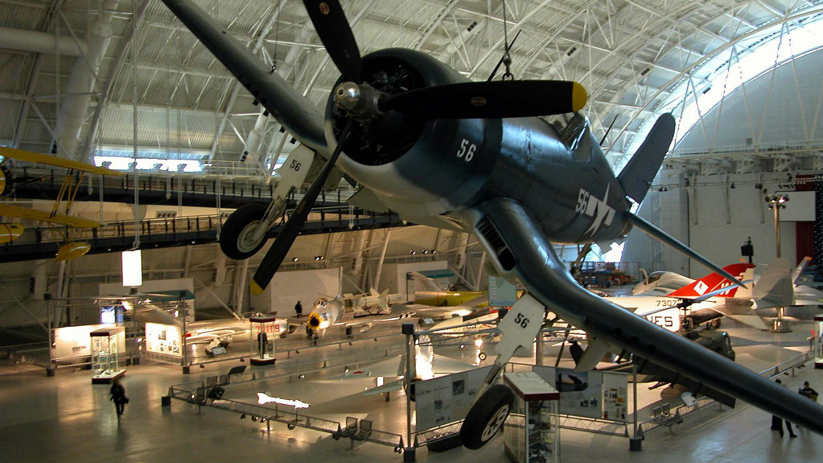 Private family tour of the The National Air & Space Museum on the National Mall
