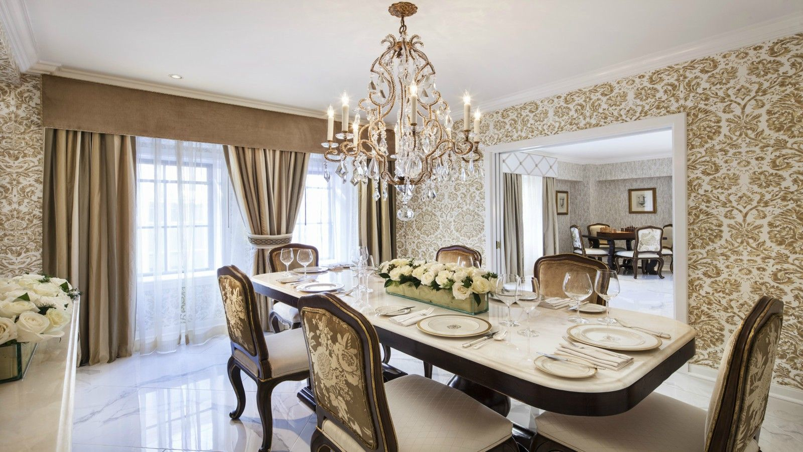 The St. Regis Washington, D.C. - Presidential Suite Dining Room